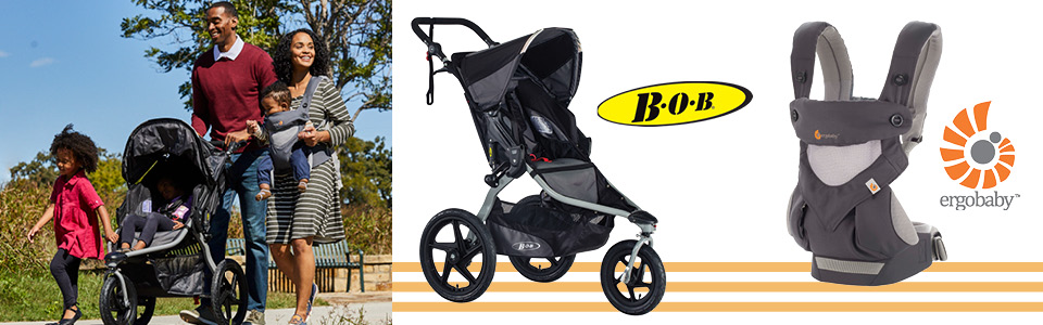 ErgoBaby and Bob Baby Gear
