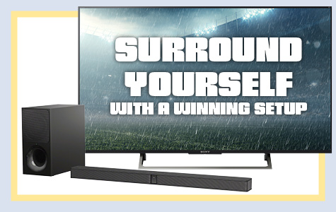 Shop TVs and Soundbars