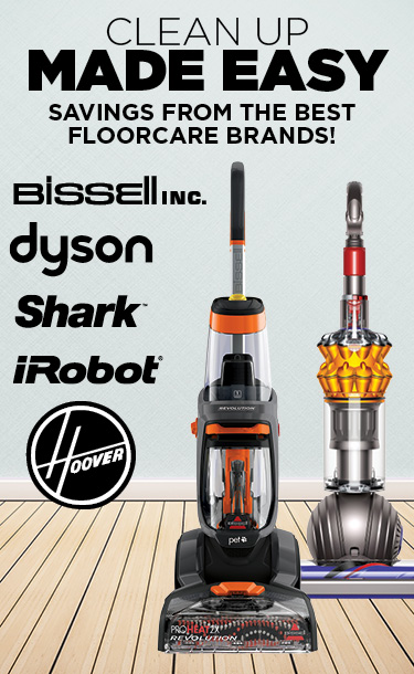 Savings From the Best Floorcare Brands