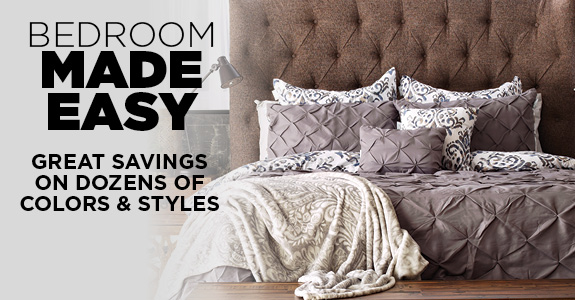 Great Savings On Dozens of Bedroom Colors and Styles