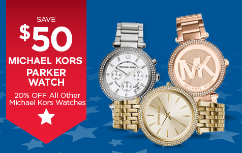 20% Off All Michael Kors Watches
