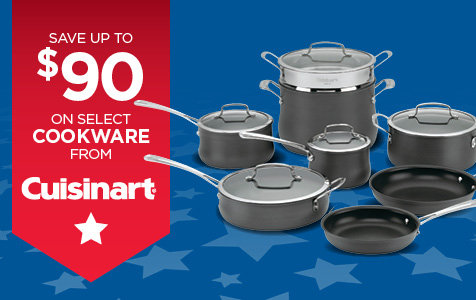 Save Up to $90 On Select Cookware