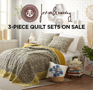Justina Blakely 3PC Quilt Sets on Sale