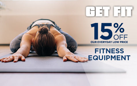 15% Off Fitness Equipment