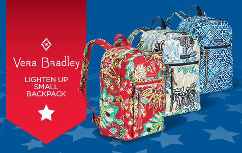 Vera Bradley Lighten Up Small Backpack