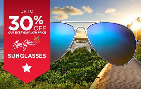 Up to 30% Off Maui Jim Sunglasses