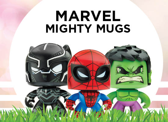 New from Lego Marvel Mighty Mugs