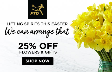 Get Easter flowers from FTD
