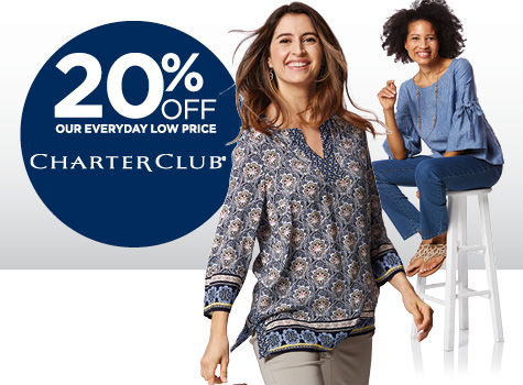 20% Off Charter Club