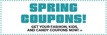 Spring Coupons
