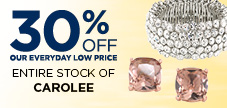 Save 30% Off All Carolee Jewelry