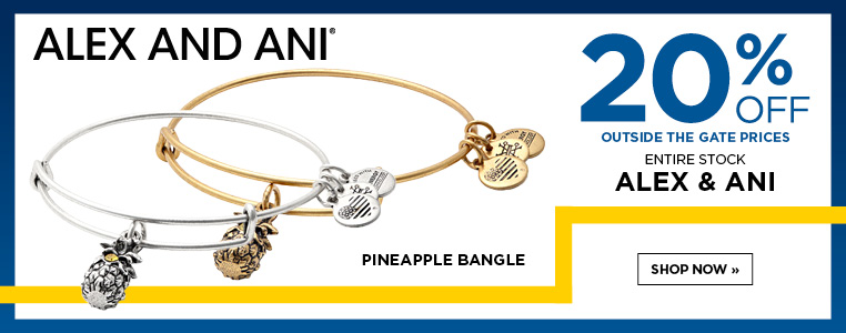 Alex & Ani Pineapple Bangle