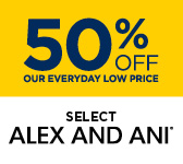 50% Off Select Alex & Ani Jewelry