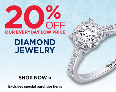 20% OFF DIAMOND JEWELRY