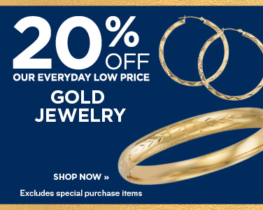 25% OFF GOLD JEWELRY