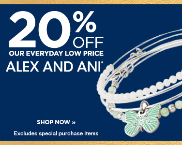 20% OFF ALEX AND ANI
