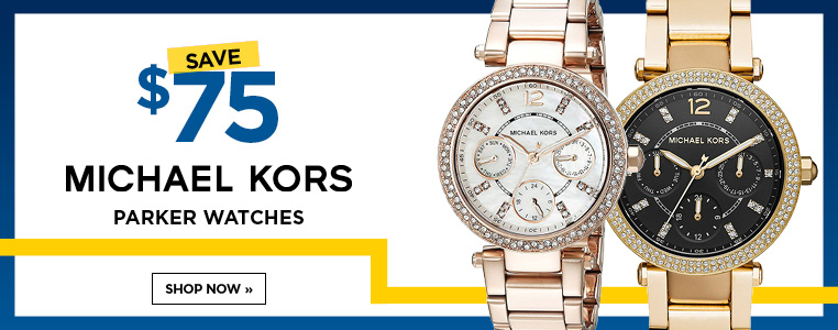 $75 Off Any Michael Kors Parker Watches