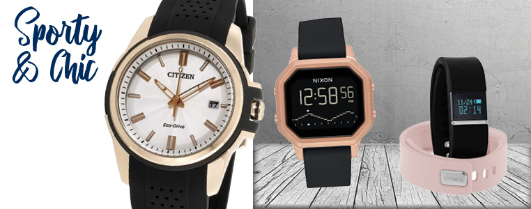 Sporty and Chic Watches