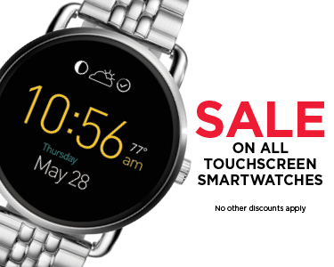 Sale on All Touchscreen Smartwatches