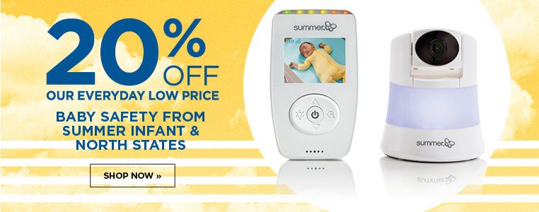 20% off Baby Safety from Summer Infant & North States