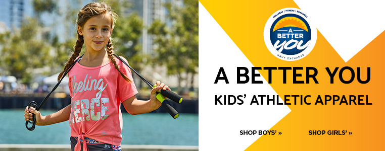 KIDS ATHLETIC APPAREL