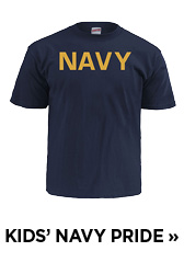 Kids' Navy Pride