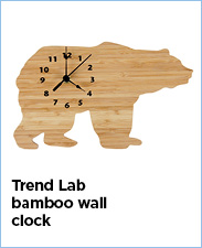 Trend Lab Bamboo Wall Clock
