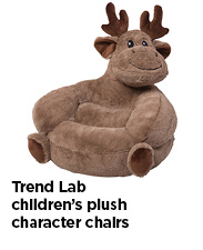 Trend Lab Children's Plush Character Chairs