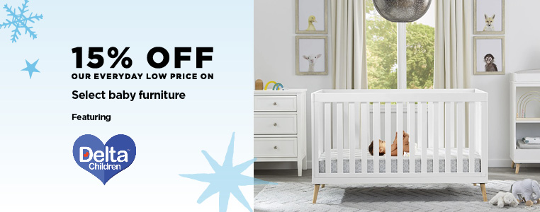 15% off Delta Baby Furniture