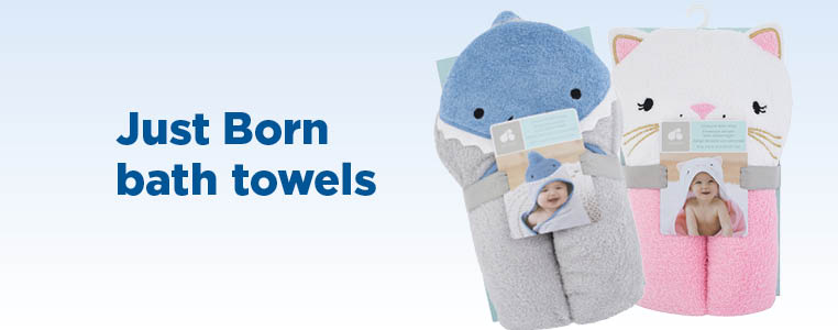 Just Born Bath Towels