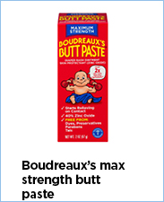 Boudreaux's Max Strength Butt Paste