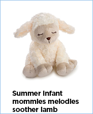 Summer Infant Mommies Melodies Soother Lamb