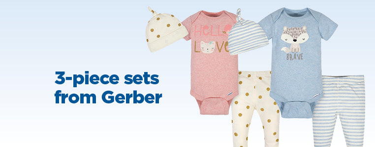 3-Piece Sets from Gerber