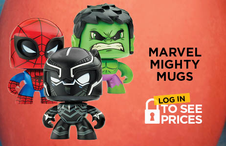 New from Marvel Mighty Mugs
