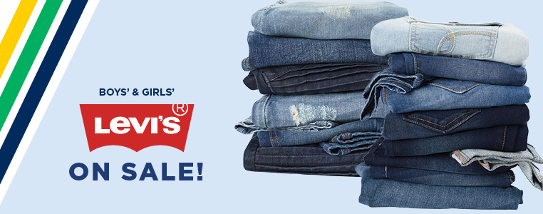 Boy's and Girl's Levi's On Sale