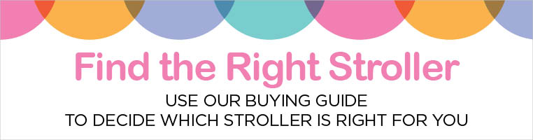 FIND THE RIGHT STROLLER