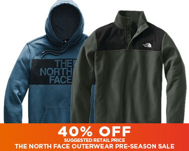 40% Off Suggested Retail Pricing The North Face