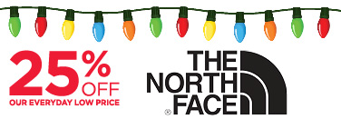 25% Off men's The North Face