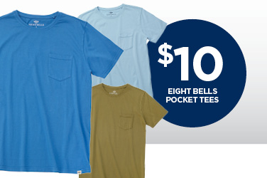 Eight Bells Pocketed Tee