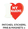 Shop Patches, Stickers, Pins & Magnets