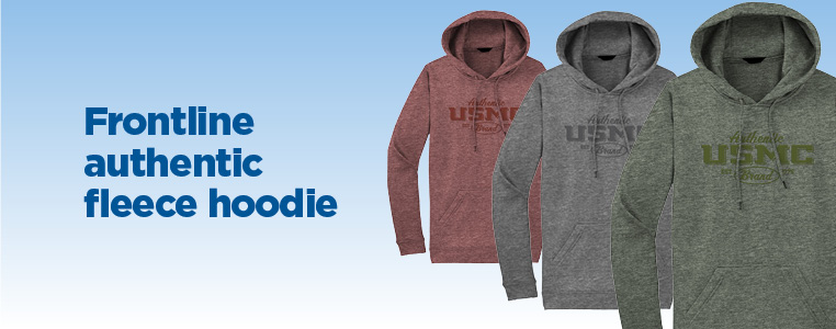 Frontline Authentic Fleece Hoodie