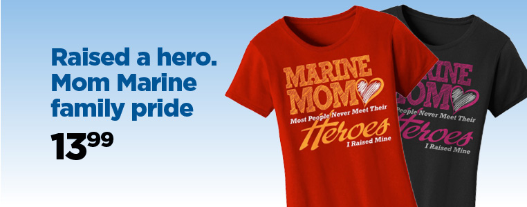 Mom Marine Family Pride