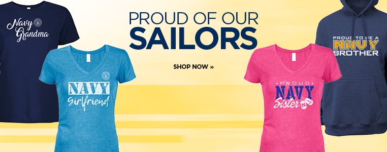 Shop Navy Pride Apparel for the Family