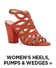 Women's Heels, Pumps and Wedges