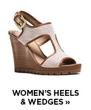 Women's Heels & Wedges
