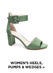Women's Heels, Pumps, and Wedges