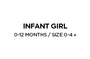 Infant Girl's / 0-12 Months / Size 0-4