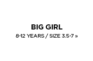 Big Girl's / 8-12 Years / 3.5-7