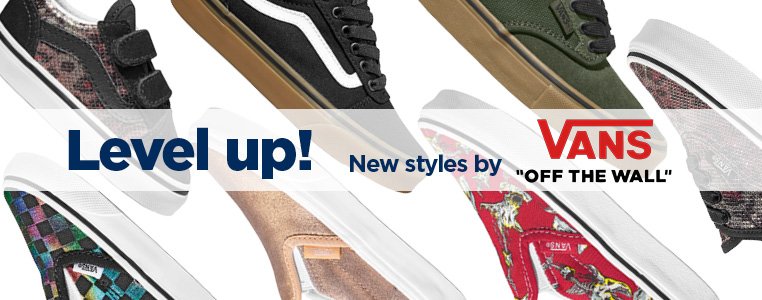 Shop New styles by Vans