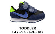 Toddler / 1-4 Years / Size 4.5-10